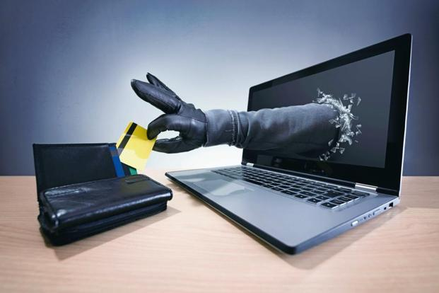 Examples of attempted Fraud in On-Line Banking Accounts.