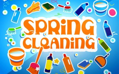 Spring cleaning tips.