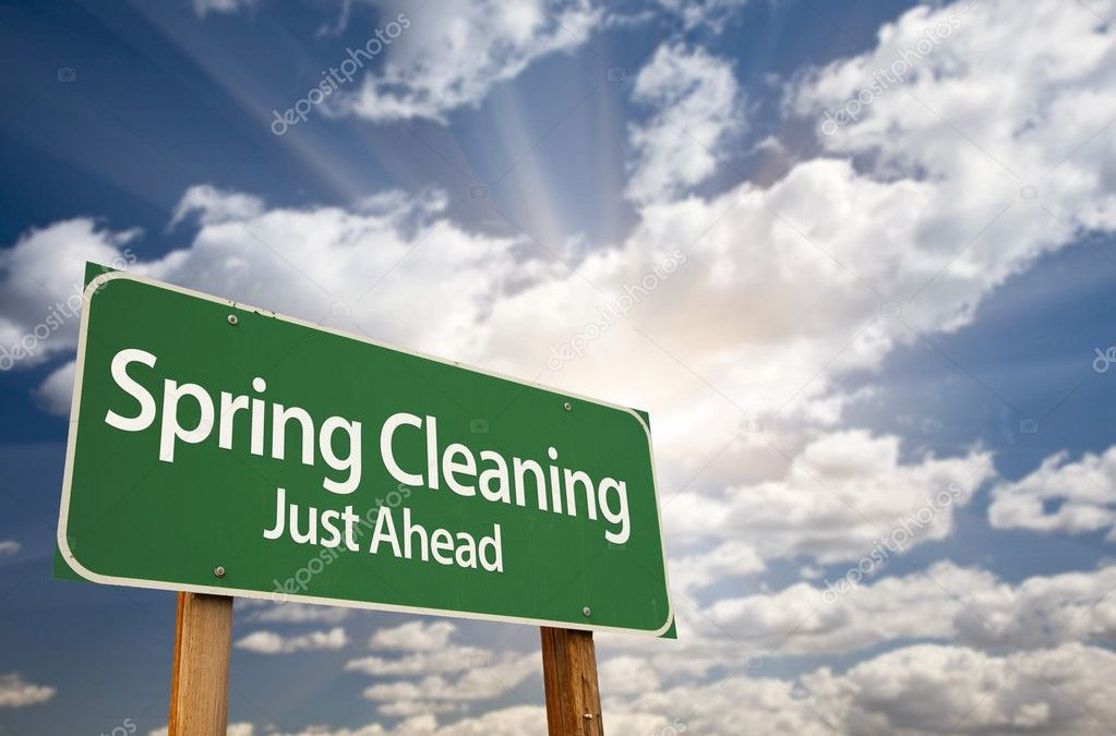 "Where does ""spring cleaning "" originate from?"