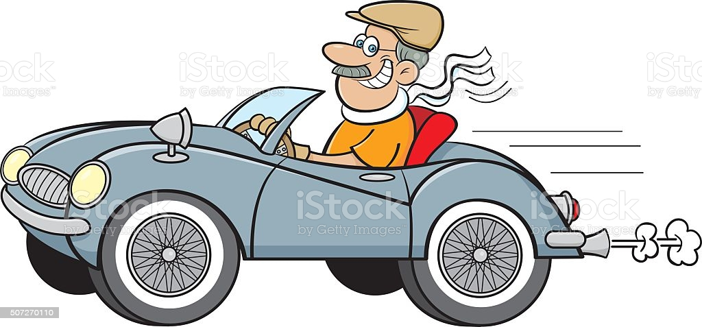 Jokes about driving and getting old